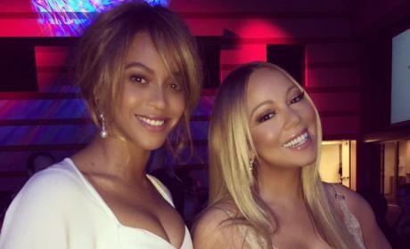 Beyonce and Mariah Carey
