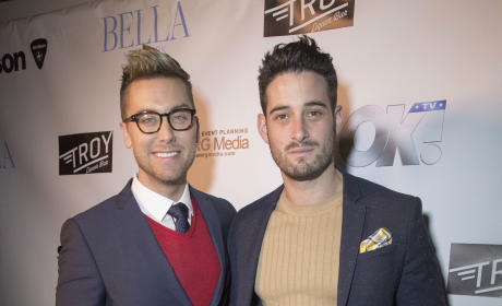 Lance Bass and Michael Turchin: Bella New York Cover Launch Party