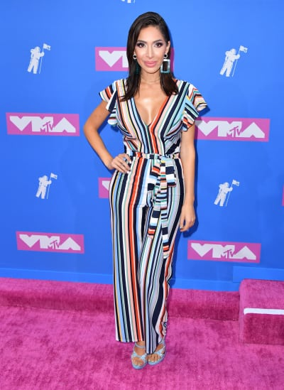 Farrah Abraham at 2018 VMAs