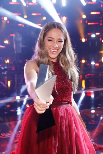 Brynn Cartelli Wins The Voice Season 14