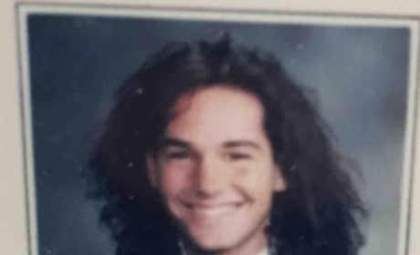 Paul Rudd Yearbook Photo