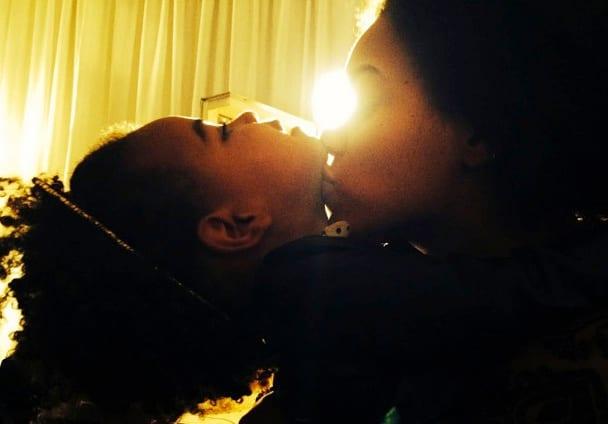 Beyonce Kisses Blue Ivy