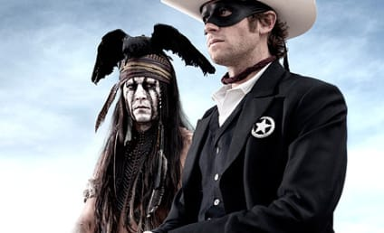 The Lone Ranger First Look: Johnny Depp and Armie Hammer