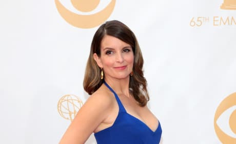 Tina Fey at the Emmys