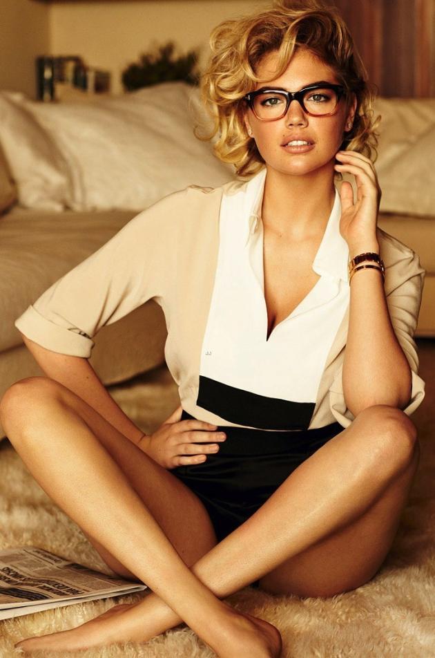 Kate Upton in Vogue