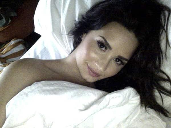 Demi in Bed