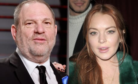 Lindsay Lohan Defends Harvey Weinstein, Slams Georgina Chapman For Leaving Him
