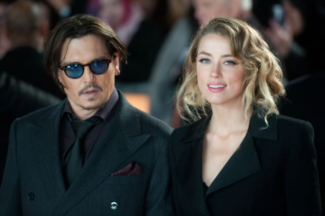 Johnny depp and amber heard picture