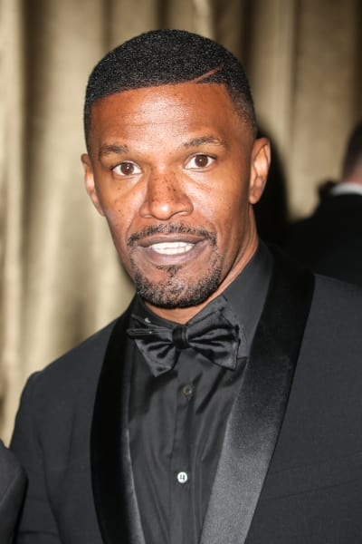 Jamie Foxx in black tux
