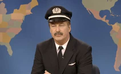 Alec Baldwin Mocks American Airlines, Self on SNL Weekend Update