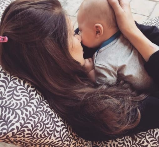 Briana Jungwirth Baby Photo