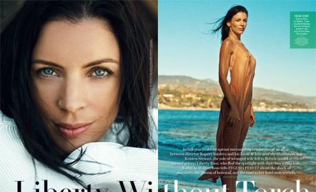 Liberty Ross in Vanity Fair
