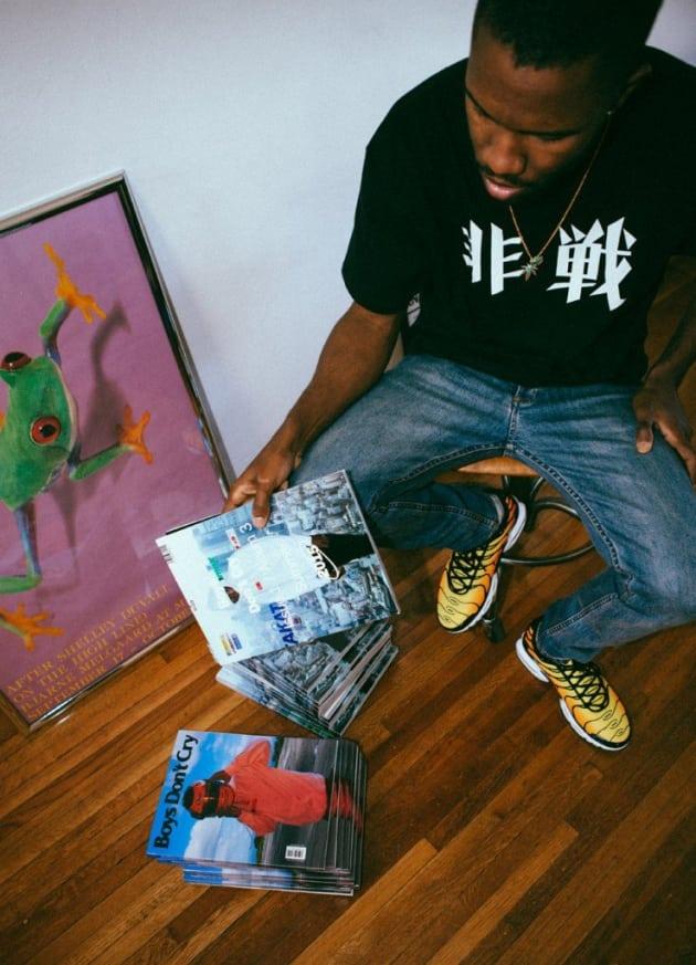 Frank Ocean Album Pic