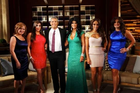 Andy Cohen and The Real Housewives of New Jersey