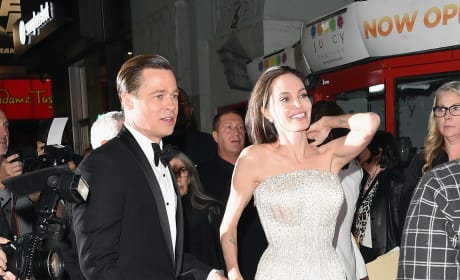 Brad Pitt and Angelina Jolie: A Photo
