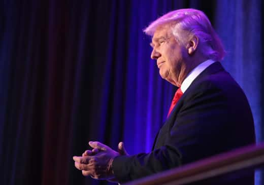 Donald Trump Claps