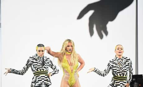 Britney Spears at the 2016 VMAs