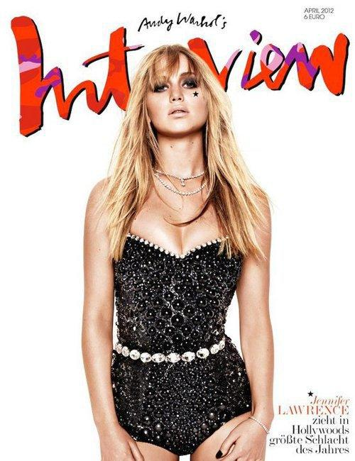 Jennifer Lawrence Interview Cover