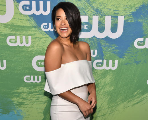 Gina Rodriguez at the Upfronts