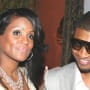 Retro Usher and Tameka Foster