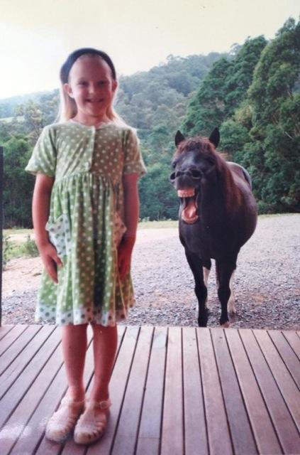Horse Photobomb!