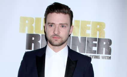 Justin Timberlake and Jessica Biel Wear Matching Tuxedos at Movie Premiere