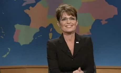 Sarah Palin on SNL Weekend Update