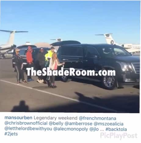Scott Disick and Amber Rose Head Home From Las Vegas