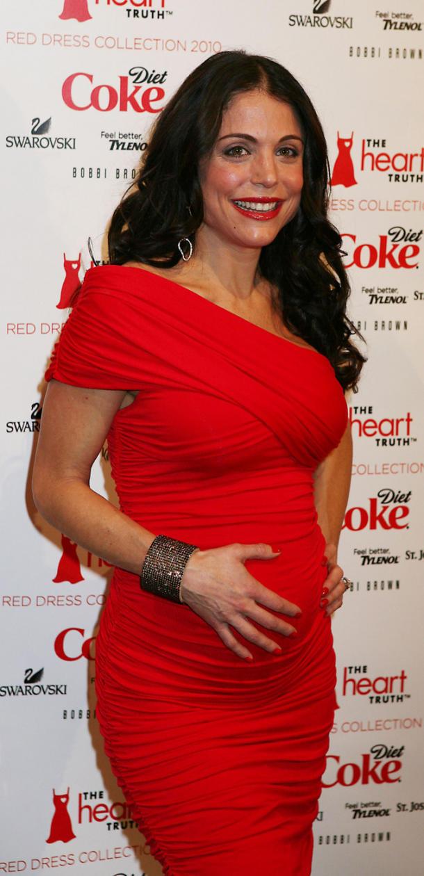 Pregnant Bethenny Frankel