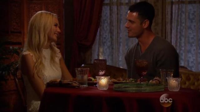 Ben and Lauren Get Romantic