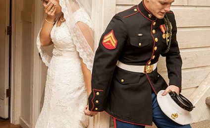 Marine's Wedding Prayer Photo Goes Viral