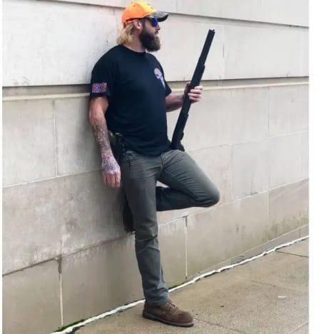 David Eason With a Gun