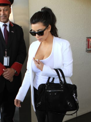 Kim Kardashian in LAX