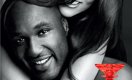 Khloe Kardashian and Lamar Odom Unveil New Fragrance Ad