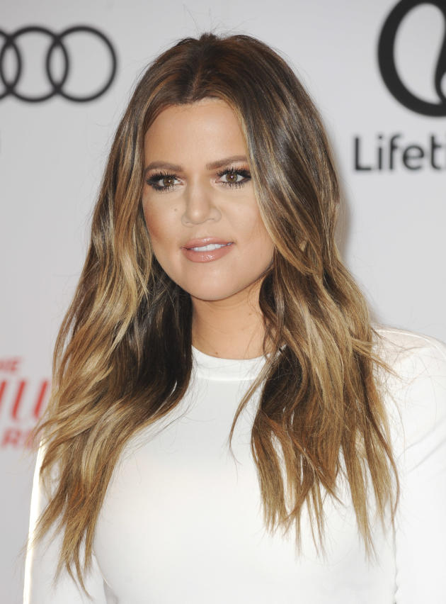 Khloe on a Red Carpet