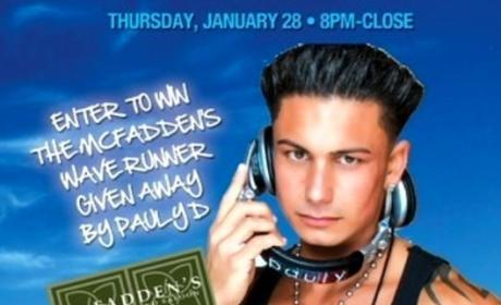 Pauly D Poster