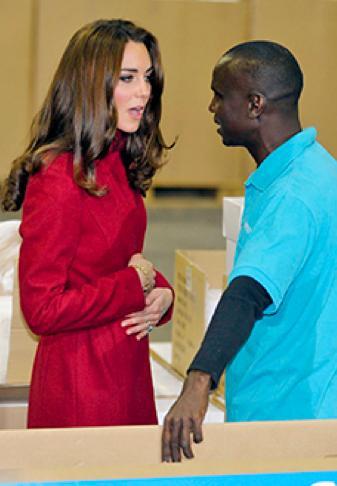 Kate Middleton, Belly