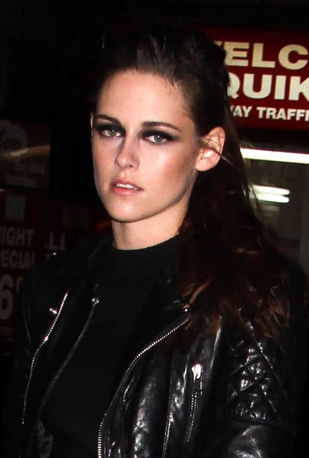 Kristen Stewart in Black