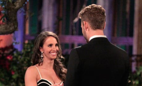 Vanessa on The Bachelor Premiere