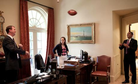 Oval Office Game of Catch
