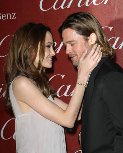Brad Pitt With Angelina Jolie Picture