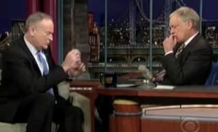 David Letterman to Bill O'Reilly: You're a Goon