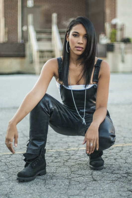 Alexandra shipp as aaliyah as aaliyah