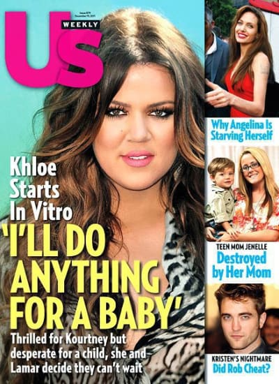 Khloe Kardashian Us Weekly Cover