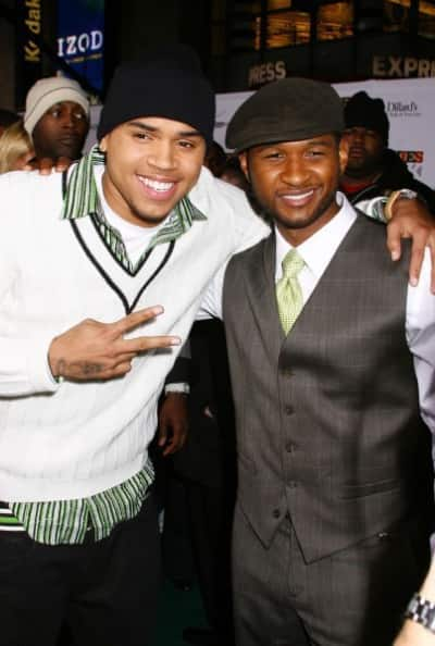Chris Brown, Usher Pic