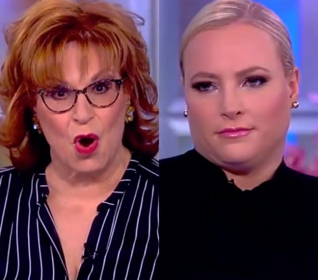 Meghan Mccain The View Joy Behar: Joy Behar & Meghan McCain Clash In Epic War Of Words
