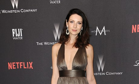 Catriona Balfe at the Golden Globes