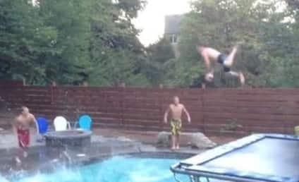 Swimming Pool Trick Shot Dunk: Even More Insane Than the Original!