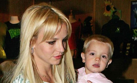 Britney Spears and Jayden James Photo