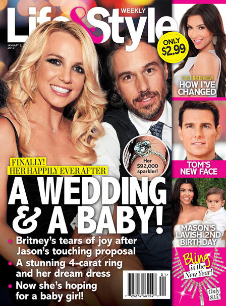 Britney Spears and Jason Trawick Cover